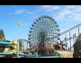 Amusement Park 09 3D