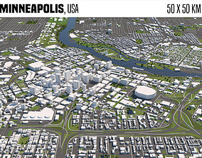 3D Minneapolis
