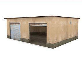 Car Garage - Low Poly 3D model