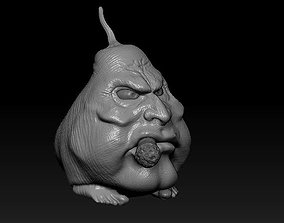 smoking pear 3D printable model