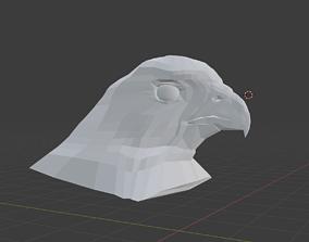 Low Poly Hawk 3D model