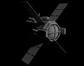 Escape Pod Spaceship complete model
