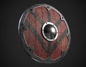 celtic 3D model Viking shield