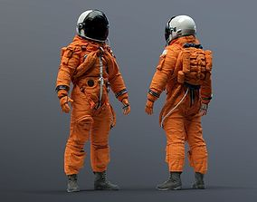 3D ACES NASA SPACE SUIT