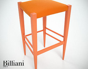 3D model Billiani Vincent VG stool 445 werther