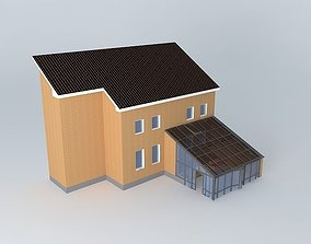 3D model Conservatory Patio
