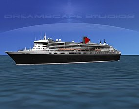 RMS Queen Mary 2 3D model