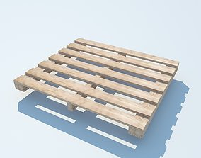 Wood Pallet 2 MAX 2011 3D model