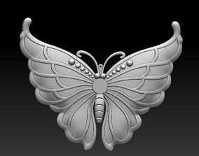 3D butterfly pendant