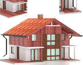 3D town Cottage 02-20