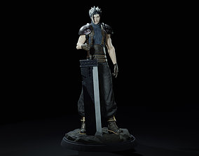 Zack Fair Final Fantasy 7 Remake 3D printable model
