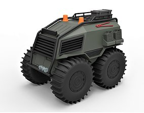 Diecast model SHERP Ultimate survival machine Scale 1 1