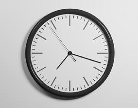 Realistic Wall Clock 3D houseware