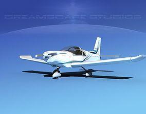 Zlin Z 242 V11 3D model