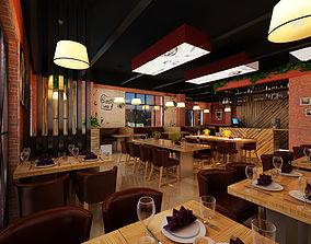 3D Models Modern Restaurant