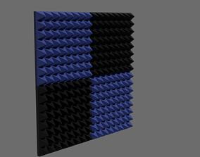 acoustic foam 3D model