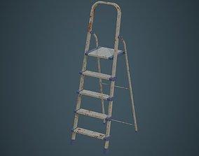 Step Ladder 4B 3D model