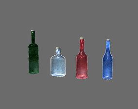 3D model Bottle Target - Animated
