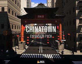 Chinatown Expansion Pack 3D asset