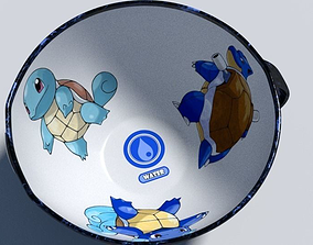 Squirtle evolution pokemon cup 3D model