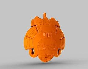 3D printable model Mayan Girl Necklace