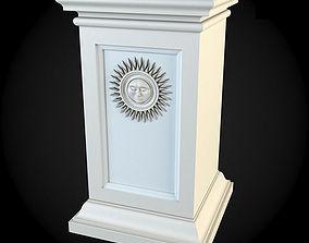 house Pedestals 3D