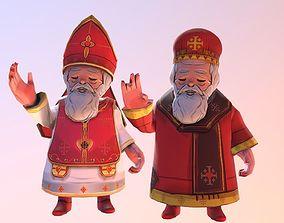 Saint Valentine western eastern Pack 3D model