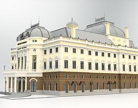 Opera house - Bratislava Slovakia 3D facade