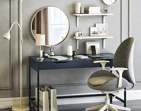 IKEA womens dressing table and workplace 3D model