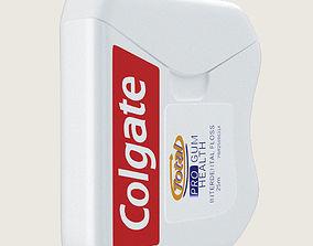 3D model Colgate Dental Floss