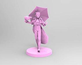 Skelliworm von Odd Tiefling Warlock 3D printable model 2