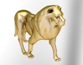 dragon 3D print model lion jewelry
