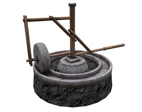 Medieval Mill 3D model