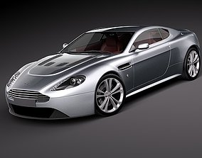 Aston Martin v12 Vantage 3D