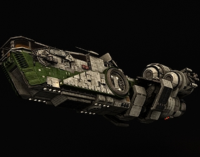 Star Wars Light freighter Acklay 3D model