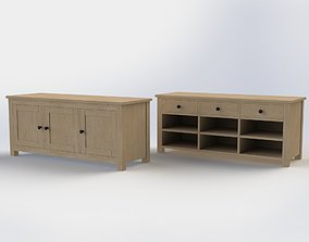 hallway benches 3D