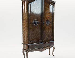Baroque cupboard - Germany 1760 3D model
