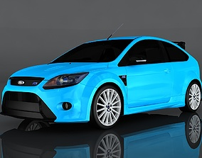 2009 Ford Focus RS 3D model