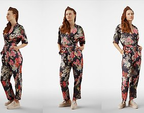 3D Isabel 37 Fashionista Woman posed standing in 1