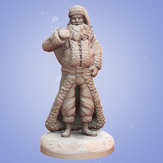 Stylized Santa Claus