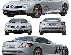 3D Mercedes SLR Mclaren