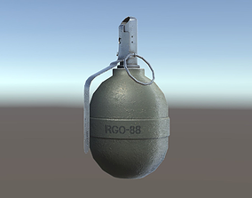 Grenade GBO-88 3D model
