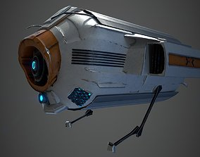 3D model Spy and Transport Drone