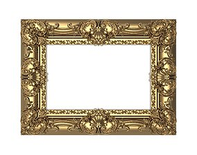 Carved Picture Frame 3D architectural