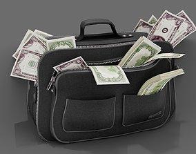 3D model BAG OF MONEY