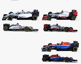 Formula 1 2016 car pack 2 3D asset