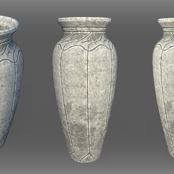 Game Art : Ornament Vase