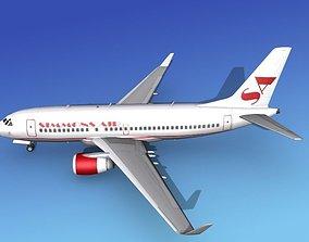 3D Boeing 737-700ER Simmons Charter