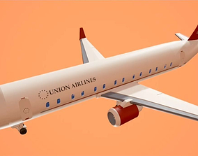 Aircraft Model in FBX format low-poly
