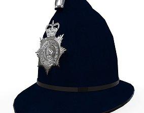 3D asset Police Helmet